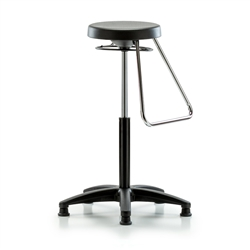 Gyroscope Fixed Footrest Stool 20 30 Quot Perch Chairs And